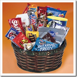 Candy Gift Baskets